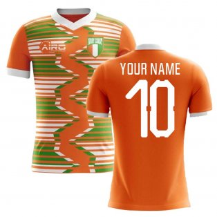 2020-2021 Ivory Coast Home Concept Football Shirt (Your Name) -Kids