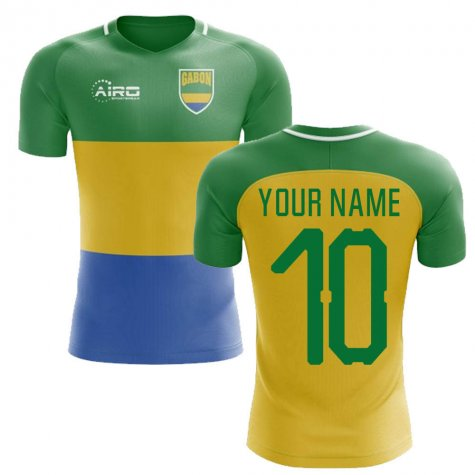2018-2019 Gabon Home Concept Football Shirt (Your Name) -Kids