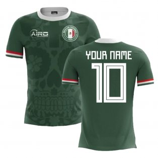 2018-2019 Mexico Home Concept Football Shirt (Your Name) -Kids