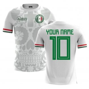2018-2019 Mexico Away Concept Football Shirt (Your Name) -Kids