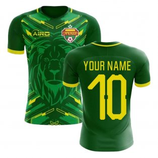 2018-2019 Cameroon Home Concept Football Shirt (Your Name) -Kids