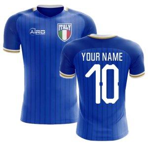 2020-2021 Italy Home Concept Football Shirt