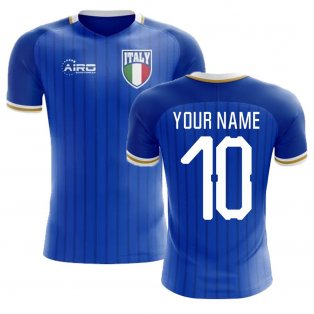 2018-2019 Italy Home Concept Football Shirt (Your Name) -Kids