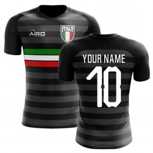 2018-2019 Italy Third Concept Football Shirt (Your Name) -Kids