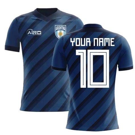 2020-2021 Argentina Away Concept Football Shirt (Your Name)
