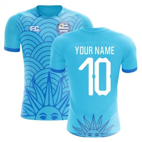 2018-2019 Uruguay Fans Culture Concept Home Shirt (Your Name)