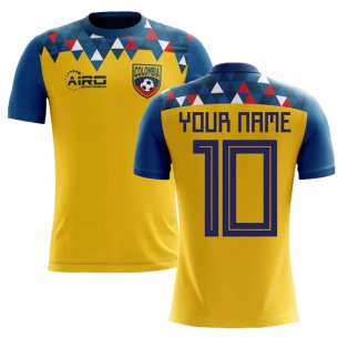 2020-2021 Colombia Concept Football Shirt (Your Name)