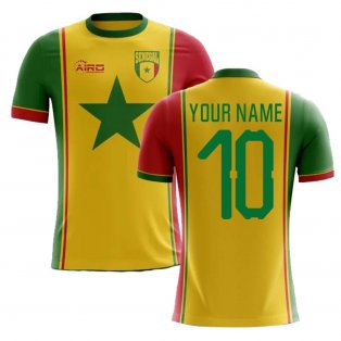 2018-2019 Senegal Third Concept Football Shirt (Your Name) -Kids