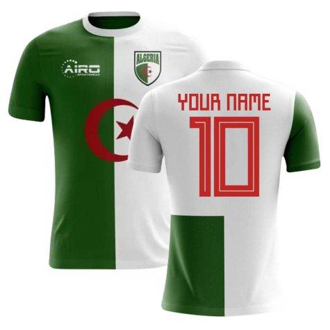 2018-2019 Algeria Home Concept Football Shirt (Your Name)