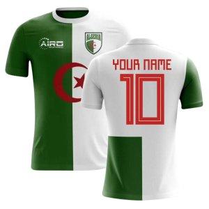 2020-2021 Algeria Home Concept Football Shirt (Your Name) -Kids