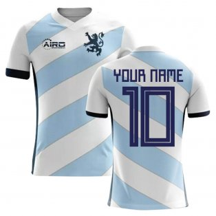 2018-2019 Scotland Away Concept Football Shirt (Your Name) -Kids