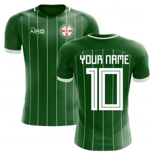 2018-2019 Northern Ireland Home Concept Football Shirt (Your Name)