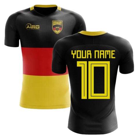 2018-2019 Germany Flag Concept Football Shirt (Your Name) -Kids