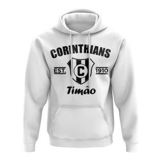 Corinthians Established Football Hoody (White)