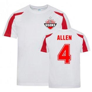 Joe Allen Stoke Sports Training Jersey (White)