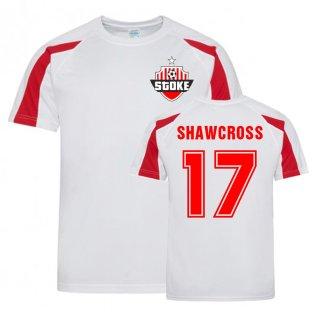 Ryan Shawcross Stoke Sports Training Jersey (White)