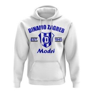Dinamo Zagreb Established Football Hoody (White)