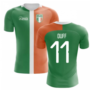 2020-2021 Ireland Flag Concept Football Shirt (Duff 11) - Kids
