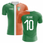 2018-2019 Ireland Flag Concept Football Shirt (Keane 10) - Kids