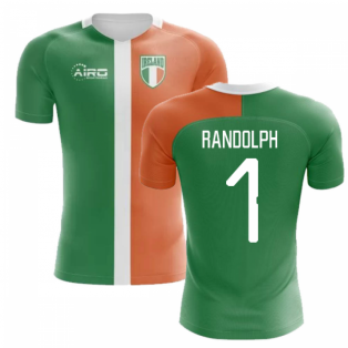 2020-2021 Ireland Flag Concept Football Shirt (Randolph 1) - Kids