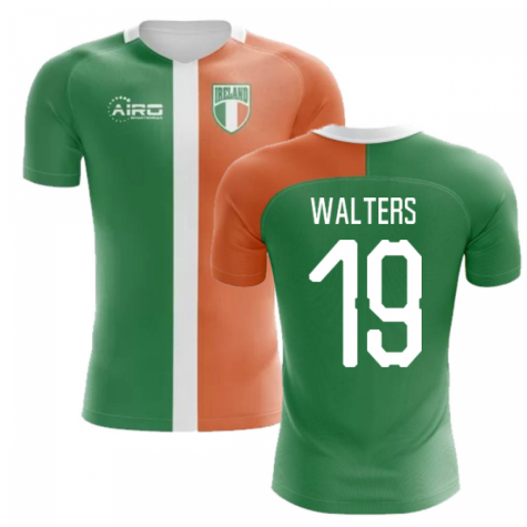 2020-2021 Ireland Flag Concept Football Shirt (Walters 19) - Kids