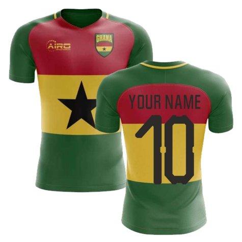 2020-2021 Ghana Flag Concept Football Shirt (Your Name) - Kids