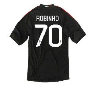 2010-11 AC Milan 3rd Shirt (Robinho 70)