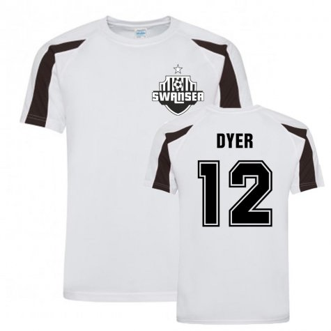 Nathan Dyer Swansea Sports Training Jersey (White)