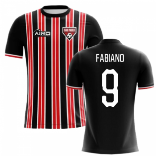 2020-2021 Sao Paolo Home Concept Football Shirt (Fabiano 9) - Kids