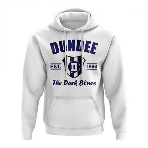 Dundee Established Football Hoody (White)