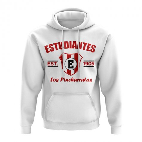 Estudiantes Established Football Hoody (White)