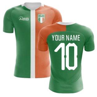 2018-2019 Ireland Flag Concept Football Shirt (Your Name) -Kids