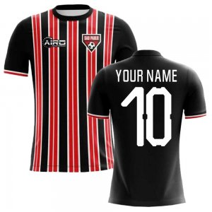2020-2021 Sao Paolo Home Concept Football Shirt (Your Name) -Kids
