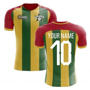 2019-2020 Ghana Home Concept Football Shirt (Your Name)