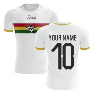2019-2020 Ghana Away Concept Football Shirt (Your Name)