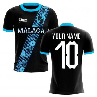 2020-2021 Malaga Away Concept Football Shirt (Your Name)