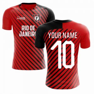 2019-2020 Flamengo Home Concept Football Shirt (Your Name) - Kids