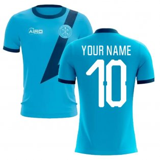 2019-2020 Zenit St Petersburg Away Concept Football Shirt (Your Name)