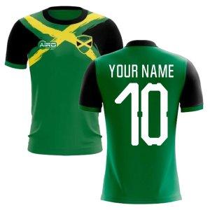 2019-2020 Jamaica Flag Concept Football Shirt (Your Name) - Kids