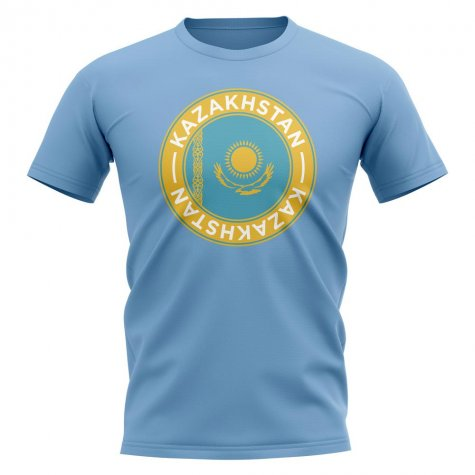 Palau Football Badge T-Shirt (Sky)