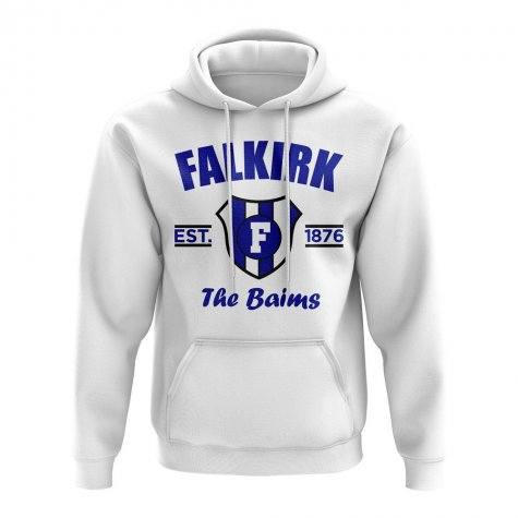 Falkirk Established Football Hoody (White)