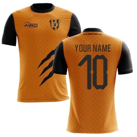 2020-2021 Wolverhampton Home Concept Football Shirt (Your Name)