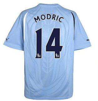 2010-11 Tottenham Puma Away Shirt (Modric 14)