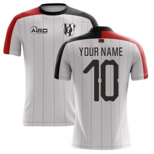 2020-2021 Fulham Home Concept Football Shirt (Your Name)