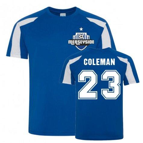 Seamus Coleman Everton Sports Training Jersey (Blue-White)