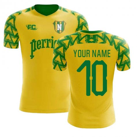 2018-2019 Nantes Fans Culture Home Concept Shirt (Your Name)