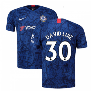 2019-20 Chelsea Home Shirt (David Luiz 30) - Kids