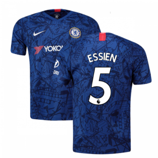 2019-20 Chelsea Home Shirt (Essien 5) - Kids