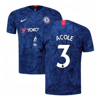 2019-20 Chelsea Home Vapor Match Shirt (A.Cole 3) - Kids