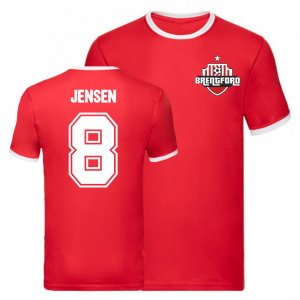 Mathias Jensen Brentford Ringer Tee (Red)